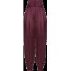 Dolce & Gabbana SATIN BALLOON TROUSERS - Capri hlače -