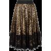 Dolce&Gabbana leopardprint pleated skirt - Krila -