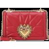 Dolce & Gabbana red devotion bag - Torby posłaniec -
