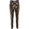 Dolce and Gabbana Jacquard trousers - Capri & Cropped -