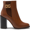 Dolce & gabbana NAPPA CALFSKIN BOOT WITH - Boots -
