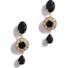 Dolce & gabbana PENDANT EARRINGS WITH DE - Earrings -