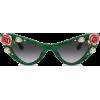 Dolce & gabbana TROPICAL ROSE SUNGLASSES - Sončna očala -