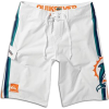 Dolphins Quiksilver NFL Boardshort - Men's White : Dolphins - Shorts - $64.99