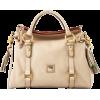 Dooney & Bourke Florentine Leather Small Satchel Oyster - Hand bag - $289.00