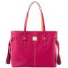 Dooney & Bourke Leather Davis Tassel Shopper Tote Bag HL655 Raspberry Red - Hand bag - $189.00  ~ £143.64