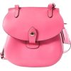 Dooney & Bourke Leather Swing Pack Crossbody Happy Bag BY669 Pink - Hand bag - $119.00