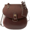 Dooney & Bourke Smooth Leather Happy Bag, Brown T-Moro - Hand bag - $119.00