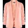 Dorothy Perkins Rose Ruches Blazer       - 西装 - $59.00  ~ ¥395.32