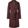 Dorothy Perkins Chocolate wrap coat - Jaquetas e casacos -