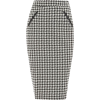 Dorothy Perkins Dogtooth Pencil Skirt - Skirts -