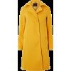Dorothy Perkins coat in yellow - Kurtka -