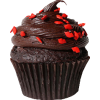 Double Chocolate Cupcake  - Lebensmittel -