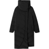 Down puffer anorak with wraparound colla - Jacken und Mäntel -
