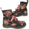 Dr Martens floral boots - ブーツ -