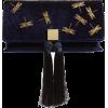 Dragonfly Velvet Clutch TED BAKER - Clutch bags -