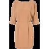 Drape Wing Tunic Dress - Dresses -