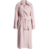 Draped Trench Coat MOON RIVER - Jacket - coats -