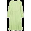 Drawstring waist maxi dress - Dresses -