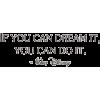 Dream Quote - Tekstovi -