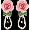 Dress - Earrings -
