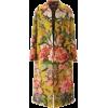 Dries Van Noten Oversized Jacquard Coat - Jacket - coats -