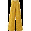 Dries Van Noten Podium Wide Pants - Capri & Cropped -