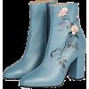 Dries Van Noten Women's Rose Leather Boo - Boots -