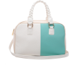 Duffel Casual Contrast Color Tote - Hand bag - $12.00
