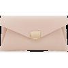 Dune Envela pink clutch - Torbe s kopčom -