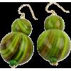 Dzidzo Green earring - イヤリング -