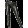 Leather tights - レギンス -