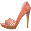 Orange Heels - 凉鞋 -