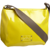 ECHO Women's Soft Patent Pleated Crossbody Yellow - Bolsas pequenas - $78.00  ~ 66.99€