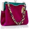 EDIE PARKER velvet bag - Hand bag -
