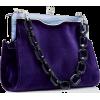 EDIE PARKER velvet bag - ハンドバッグ -