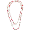 EDWARD ACHOUR PARIS layered beaded chain - Necklaces -