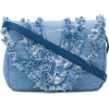 ELENA GHISELLINI distressed trim flap ha - Messenger bags - $480.00