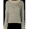 ELEVENTY metallic jumper - Pullovers -