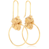 ELHANATI Lou 24-kt gold-plated earrings - Earrings -