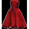ELIE SAAB red embellished dress - Vestiti -