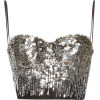 ELIE SAAB sequined bustier - Tanks -