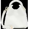 ELLEME Madeleine croc-effect shoulder ba - Hand bag -
