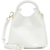 ELLEME Madeleine croc-effect shoulder ba - Borsette -
