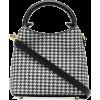 ELLEME Madeleine houndstooth tote bag - Hand bag -