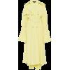 ELLERY yellow crepe de Chine trench coat - Giacce e capotti -