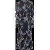 EQUIPMENT Printed satin midi shirt dress - Dresses -
