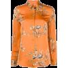 EQUIPMENT orange floral shirt - Shirts -