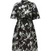 ERDEM Favilla cape-back brocade mini dre - Kleider -
