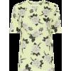 ERDEM Hettie floral cotton-jersey T-shir - T-shirts -